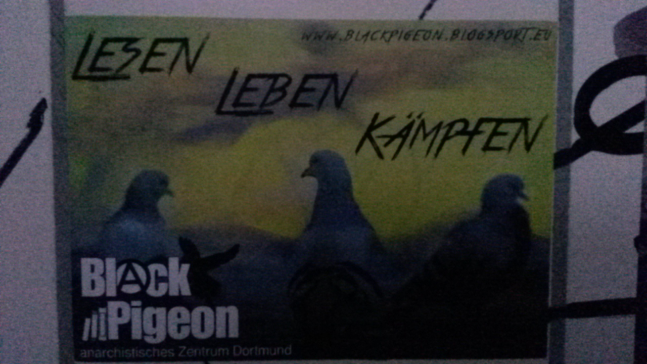 Black Pigeon Dortmund sticker
