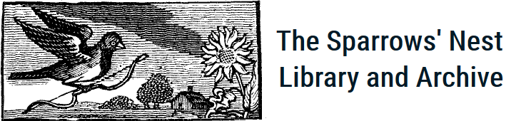 The Sparrows' Nest Library and Archive